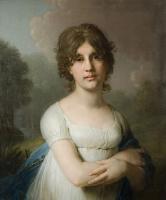 Владимир Лукич Боровиковский. Портрет княжны Е. Г. Гагариной. 1801
