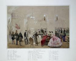 Михай Зичи. Александр II с придворными в Арсенальном зале Гатчинского дворца