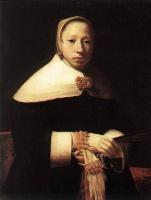Геррит Доу. Женский портрет