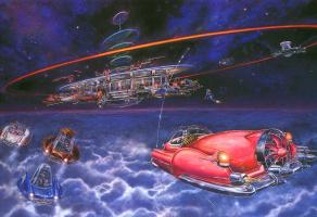 Майлз Пинкни. Космические крейсера