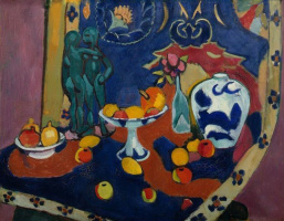 Henri Matisse. Fruits and bronze