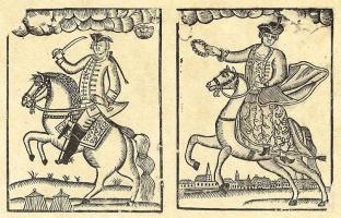 Йенс Сенеберг. Прусский король Фридрих Вильгельм II и королева Фридерика Луиза