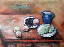 Reuven Rubin. Still life