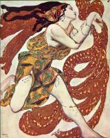 Lev Samoilovich Bakst (Leon Bakst). Costume design for the ballet N. N. Tcherepnin Narcisse