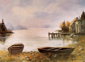 Гастон Рикард. Морская сцена