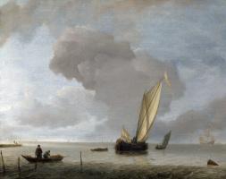 Ян ван де Каппель. Легкий ветер