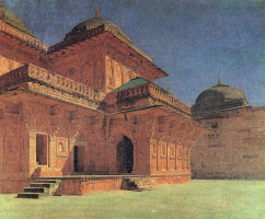 Vasily Vasilyevich Vereshchagin. Birbal's house in Fatehpur Sikri