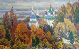 Anton Alekseevich Shepa. Kiev Pagorbi