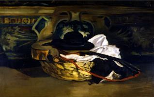 Эдуар Мане. Гитара и шляпа