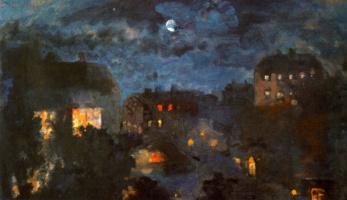 Николай Николаевич Сапунов. Ночь