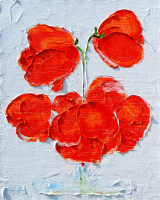 Кандинский-ДАЕ. Poppies. Oil on canvas, 50-40, 2006.