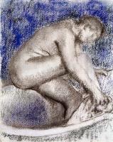 Эдгар Дега. Ванна