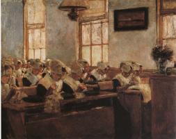 Макс Либерман. Голландская школа шитья