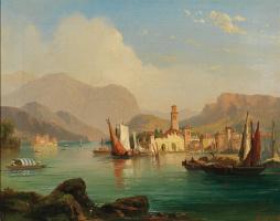 Motif of Lago Maggiore