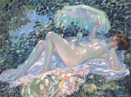 Фридрих Карл Фриске. Венера в солнечном свете
