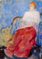 Рауль Дюфи. Портрет Сюзанны Дюфи — сестры художника
