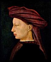 Томмазо Мазаччо. Портрет юноши в профиль