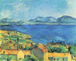Поль Сезанн. Вид на залив в Марселе со стороны Эстака
