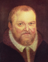 Лукас Кранах Младший. Портрет саксонского курфюрста Августа I