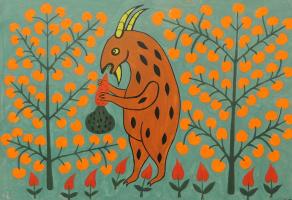 Український козел усю моркву пожер