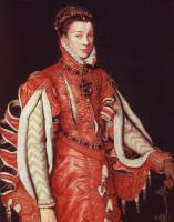 Антонис ван Дасхорст Мор. Портрет Элизабет де Валуа, третьей жены испанского короля Филиппа II