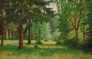 Иван Иванович Шишкин. Дети в лесу