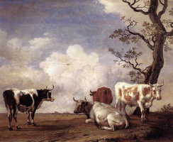 Паулюс Поттер. Коровы