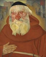 Борис Дмитриевич Григорьев. Монах. 1922   (продан 6 июня 2011 года в Лондоне за 1,171,157$)