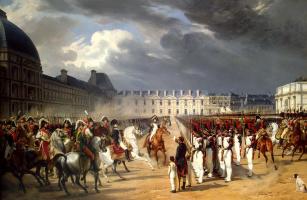 Эмиль-Жан-Орас Верне. Инвалид, подающий прошение Наполеону