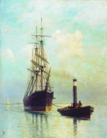 Lev Feliksovich Lagorio. In the Gulf of Finland
