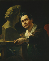 Portrait of sculptor Ivan Vitali