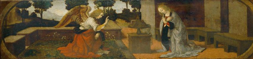 Lorenzo di Credi. Annunciation