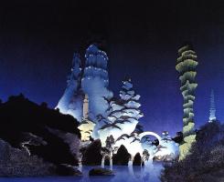 Роджер Дин. Зеленые башни