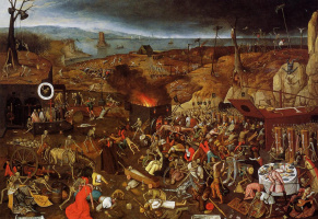 Peter Brueghel The Younger. The triumph of death