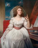 George Romney. Portrait of Elizabeth Weissel, later Mrs. John Billington