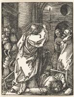 Альбрехт Дюрер. Изгнание торгующих из храма