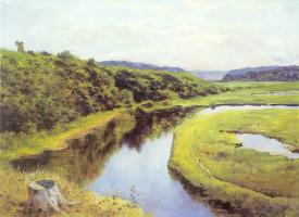 Василий Дмитриевич Поленов. Река Клязьма. Жуковка