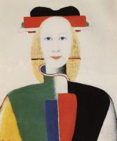 Казимир Северинович Малевич. Девушка с гребнем в волосах