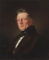 Карл Павлович Брюллов. Портрет архитектора А. М. Болотова