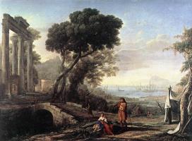 Клод Лоррен. Итальянский прибрежный пейзаж