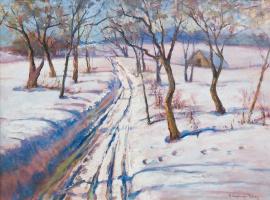 Nikolay Petrovich Bogdanov-Belsky. Winter