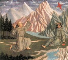 Доменико Венециано. Стигматизация Святого Франциска