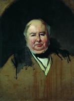 Иван Кузьмич Макаров. Портрет неизвестного. 1880-е
