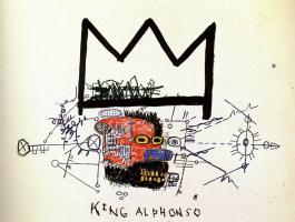 Jean-Michel Basquiat. King Alfonso