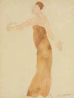 Огюст Роден. Камбоджийская танцовщица