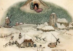 Антон Пик. Снегопад