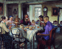 Nikolay Petrovich Bogdanov-Belsky. The new owners