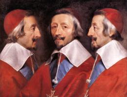 Филипп де Шампень. Тройной портрет кардинала Ришелье
