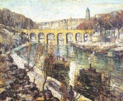 Эрнест Лоусон. Мост