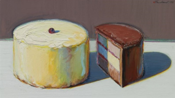 Wayne Thibaut. Half of the cake